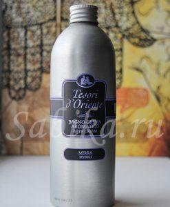 Крем для ванны Tesori d`Oriente Mirra