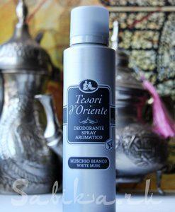 Дезодорант Tesori d'Oriente White Musk