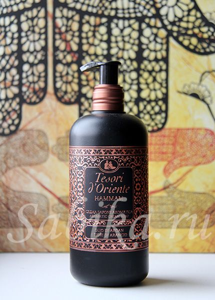 Жидкое мыло — Tesori d'Oriente HAMMAM