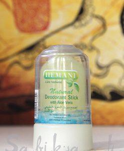 Дезодорант натуральный HEMANI (алунит, квасцы)