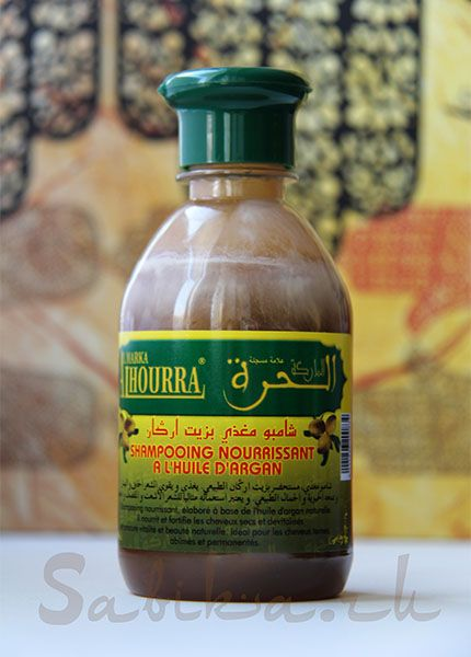 Шампунь с аргановым маслом — ALHOURRA