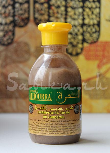 Шампунь с глиной гассуль — AL-HOURRA